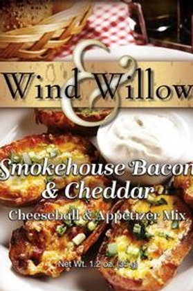 Smokehouse Bacon and Cheddar Cheeseball and Appetizer Mix