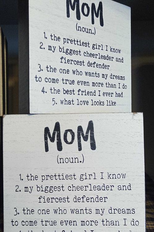 Mom (noun)