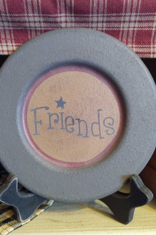 Friends decor plate- mini
