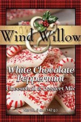 White Chocolate Peppermint Cheeseball & Desert Mix
