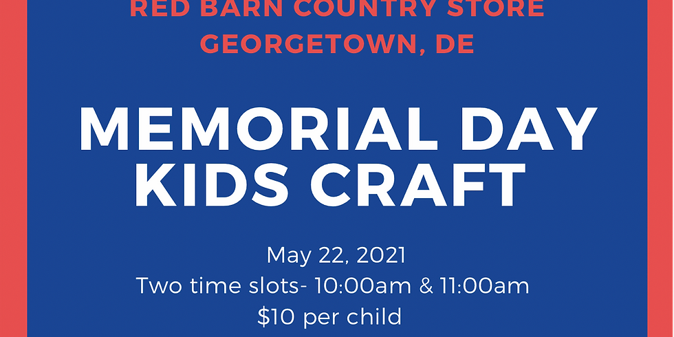 Memorial Day Kids Craft