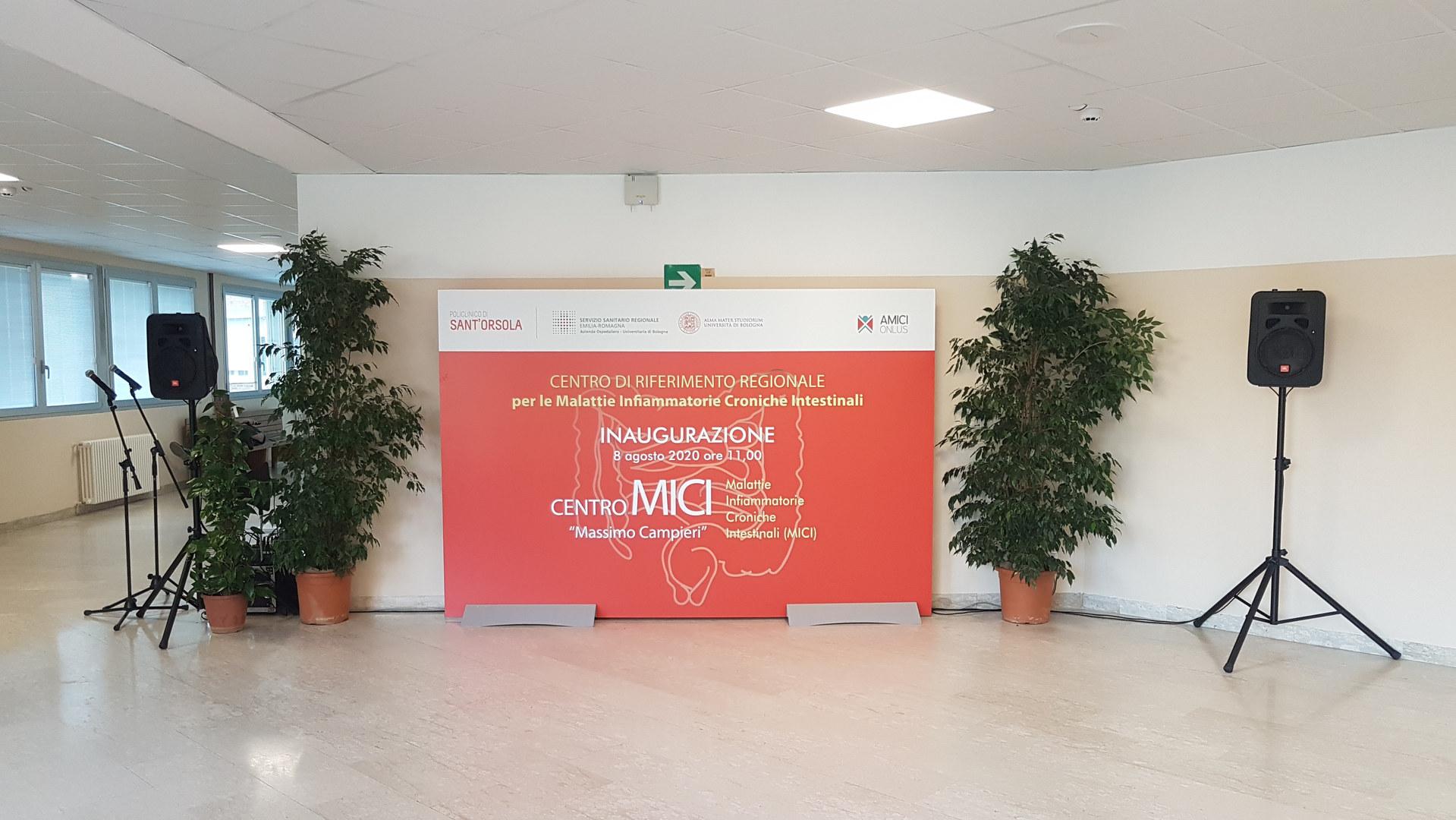 INAUGURAZIONE CENTRO MICI S.ORSOLA