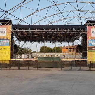 palco con copertura