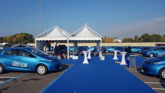 INAUGURAZIONE CAR SHARING ELETTRICO TPER