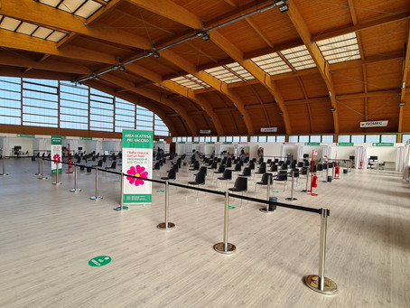 Centro vaccinale COVID - Pala Ponti AUSL Parma