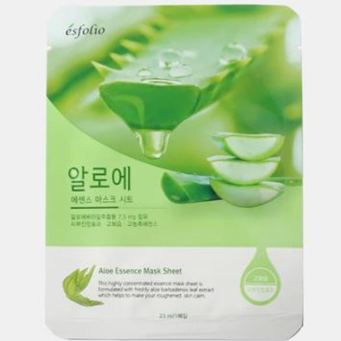 ESFOLIO Essence Aloe Sheet Mask