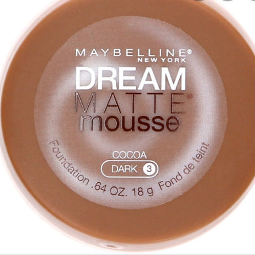 Maybelline Dream Matte Mousse cocoa