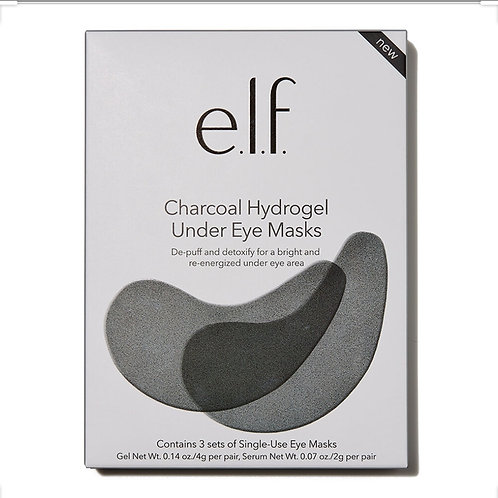e.l.f charcoal Hydrogel under eye mask