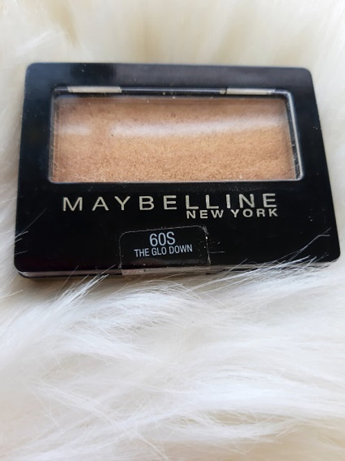 Maybelline Single Eye Shadow-The Glo Down