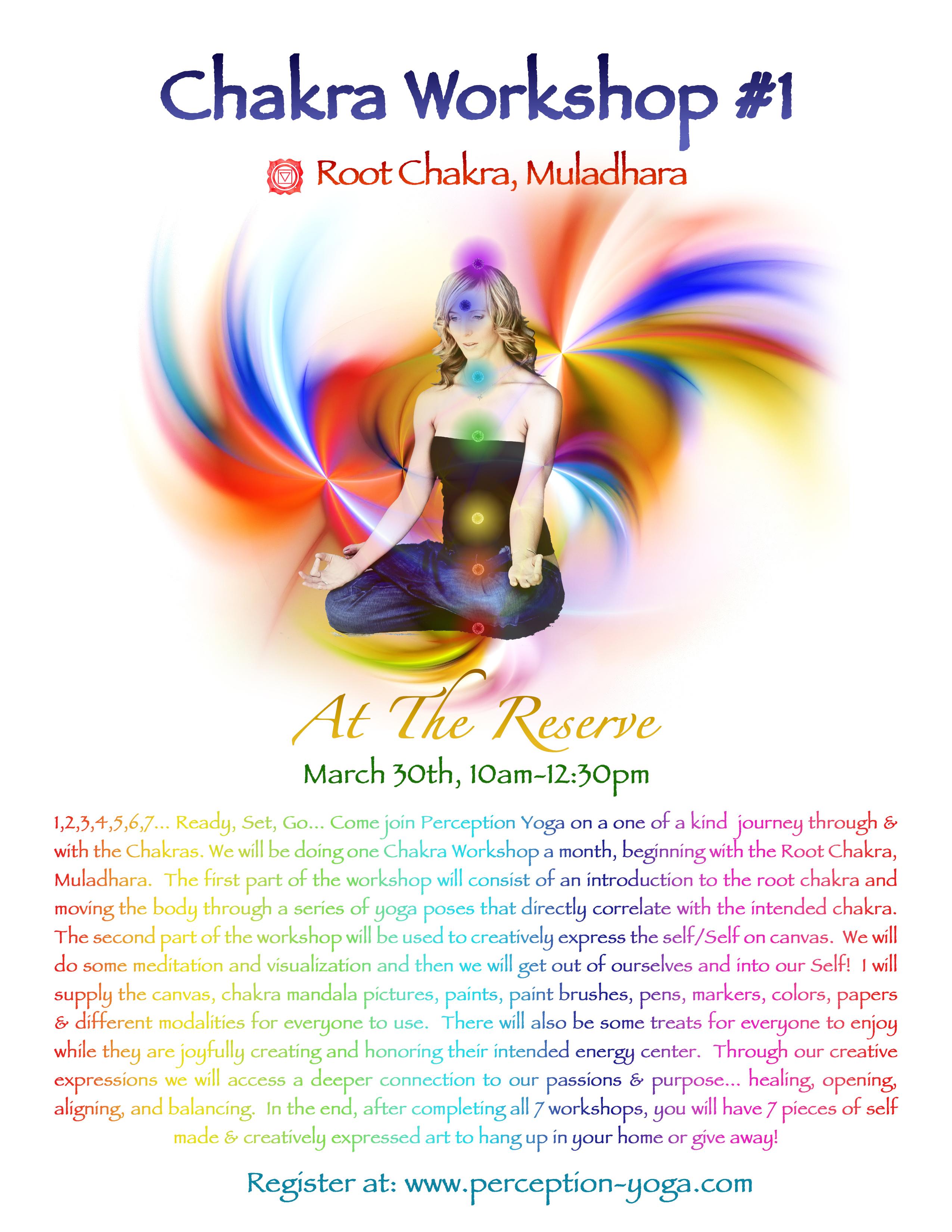 chakra 1 flyer
