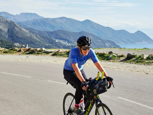 The BikingWomen of Corsica: Dawn Barnable