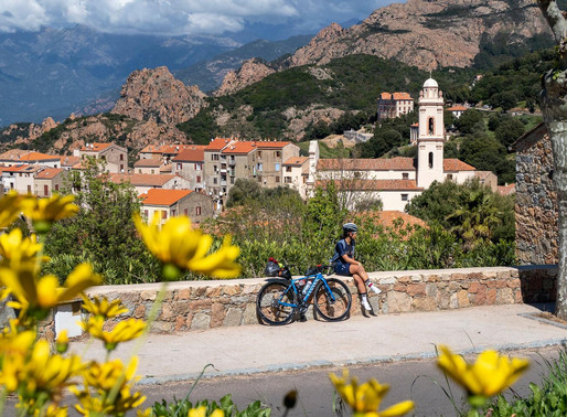 The BikingWomen of Corsica: Meet Joyce Oikawa