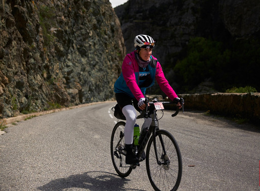The BikingWomen Of Corsica: Ophélie David