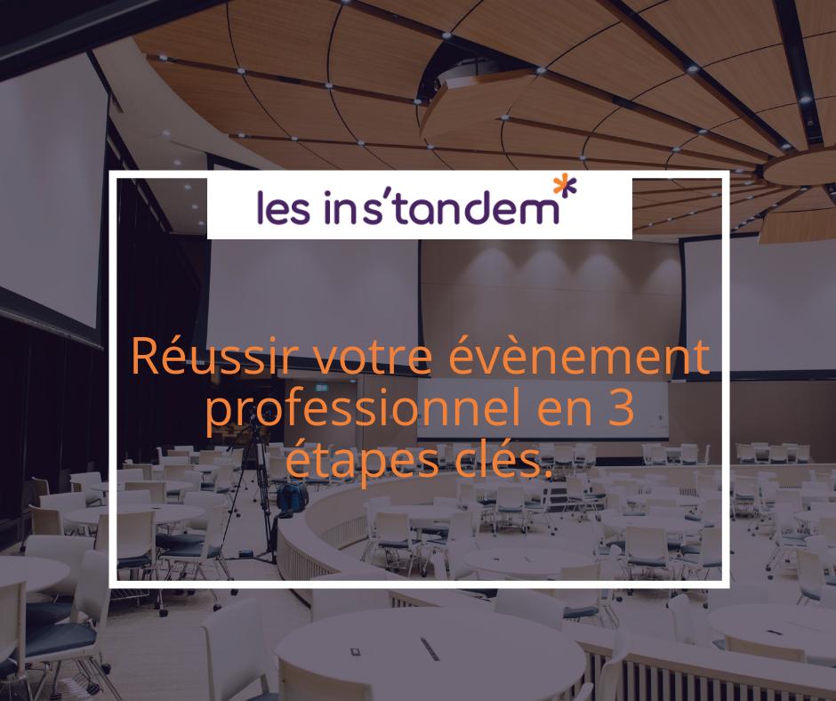Organisation d'évènement | Agence Tandem