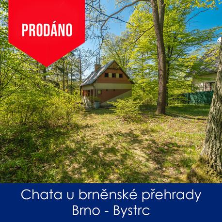 Chata Bystrc - prodej - Chata u brněnské
