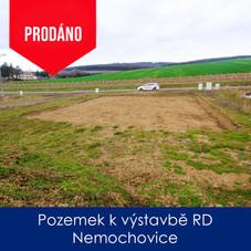 Pozemek Nemochovice - prodej - Pozemek k
