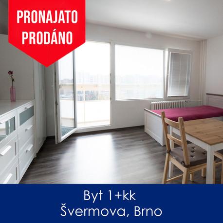 Byt Švermova - pronájem a prodej - Byt 1