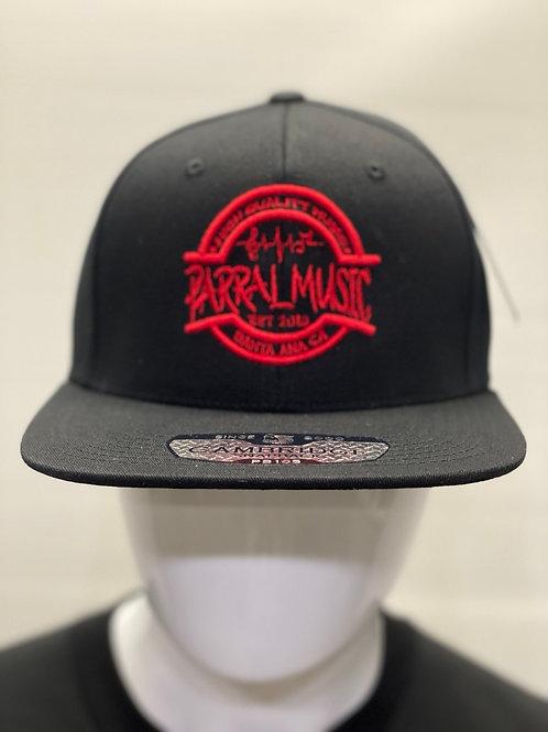 SnapBack / Black / Red Logo
