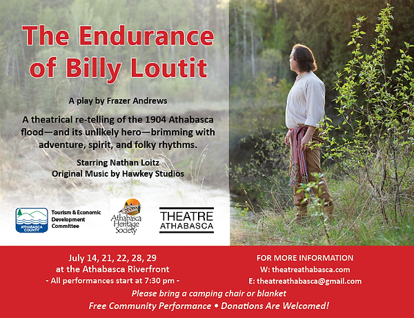 The Endurance of Billy Loutit_postcard 1