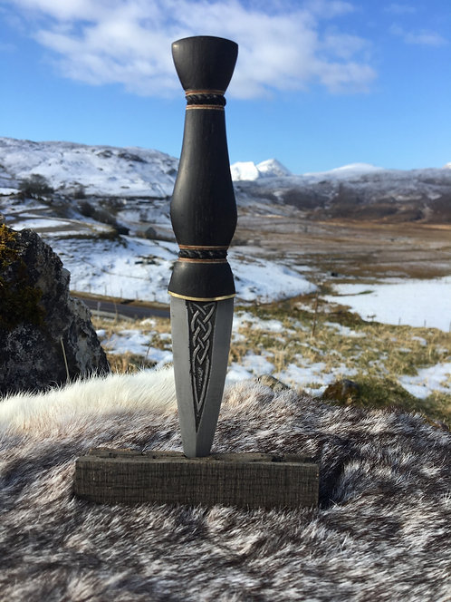 "Kernunos custom made Sgian Dubh ""The Clans"""