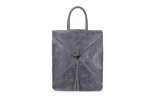 Spacious Back pack with many compartments in Grey