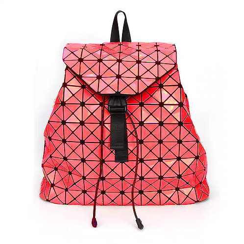 Super light Designer Back pack with many compartments in Bright Red