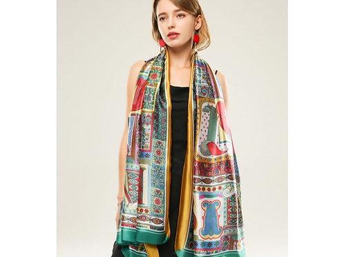 100 % Silk Feeling Designer Scarf