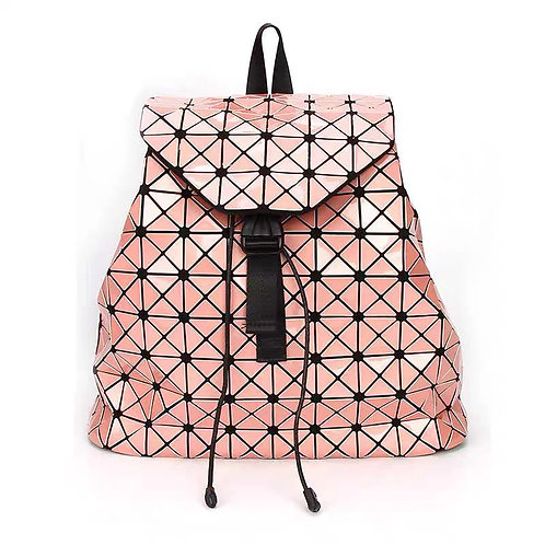 Super light Designer Back pack with many compartments in Blush Pink