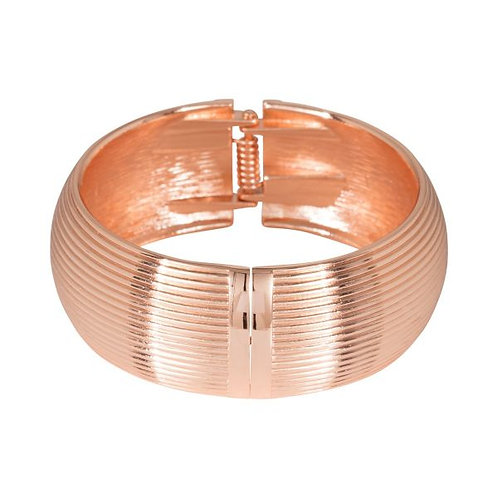 Snap on Rose Gold  Bangle  . Very Sexy.