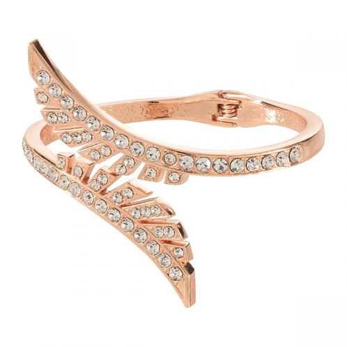 Snap on Rose Gold  and Jewels  Bangle  . Very Nice .