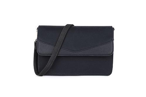 Envelope Cross Body Bag in black.