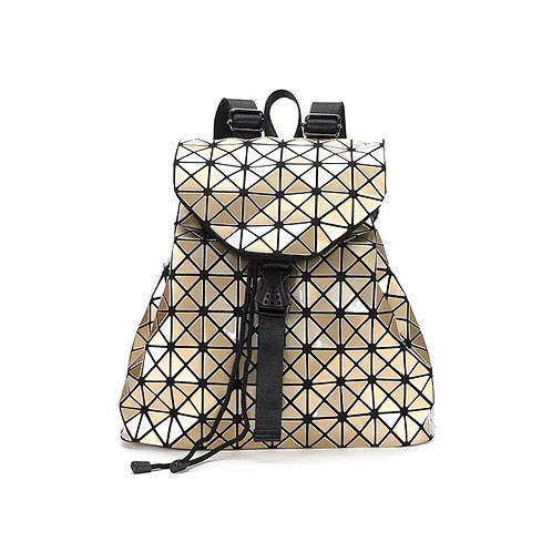 Super light Designer Back pack with many compartments in Gold