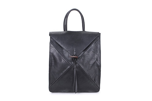 Spacious Back pack with many compartments in Black
