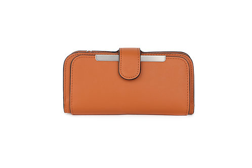 copy of Classic versatile Purse / Wallet in Faux leather in Brown.