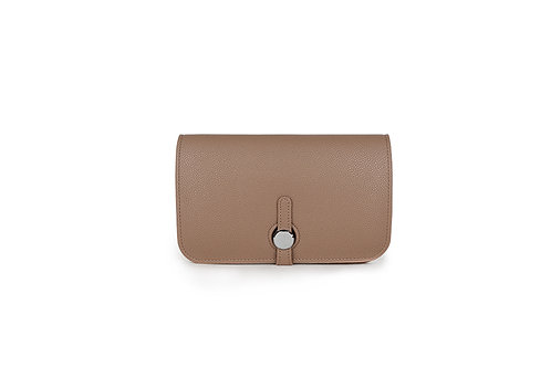 Unique purse to hold phone with detachable coin / card holderKhaki