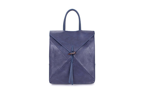 Spacious Back pack with many compartments in Navy