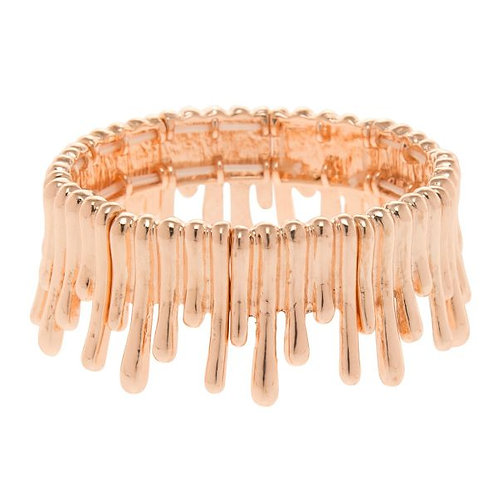 Snap on Rose Gold  Bangle  . Very Cool.
