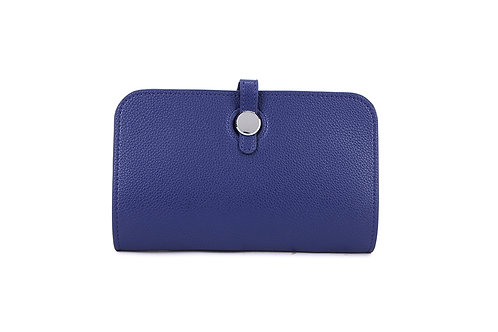 Unique purse to hold phone with detachable coin / card holder Navy