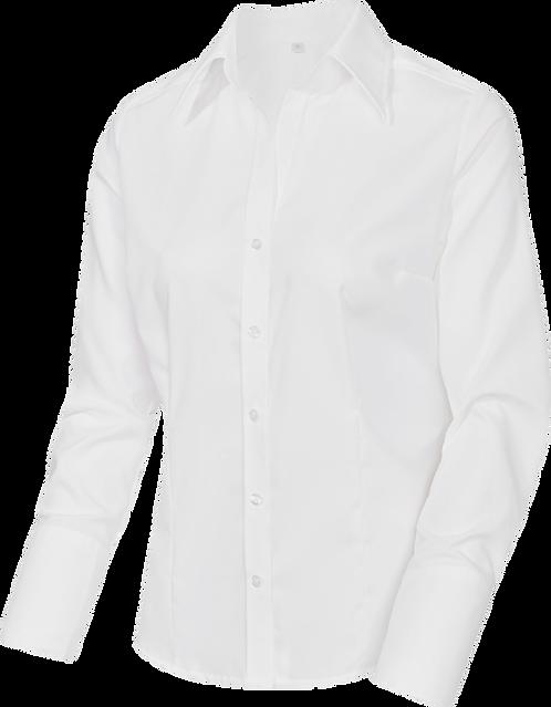 Bluse Langarm mit V-Ausschnitt