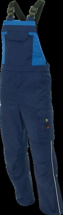 Latzhose marine/royalblau
