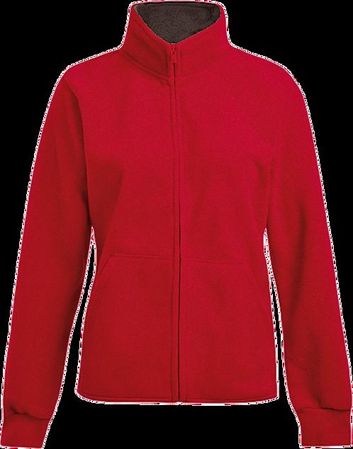 Double Fleece Damen Jacket