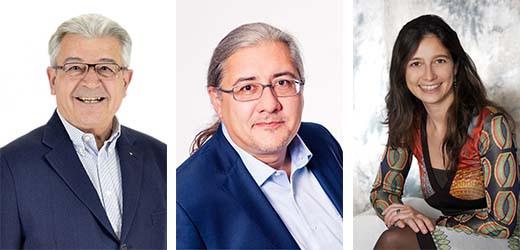 KR Mag. Dieter Götzl, Ing. Mag. Thiemo Götzl, Mag. Ditha Götzl-Guthrie