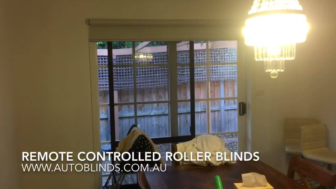Another whole house fitted with our remote controlled roller blinds this time using silver & white textured blockout fabric! Contact us for a free measure & quote on 03 9893 4029 or hit the message button!