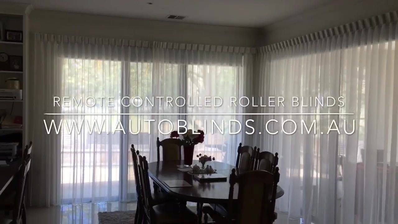 We impressed the guests of our customers with our remote controlled roller blinds by adding a timeless custom white sheer curtain to soften the room. Contact us for free measure & quote! #googlehome #smarthome #cbus