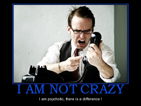 Behavioral Training- I'm not Crazy, I'm Just Not You