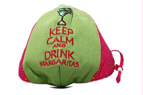 Keep Calm And Drink Margaritas Mask