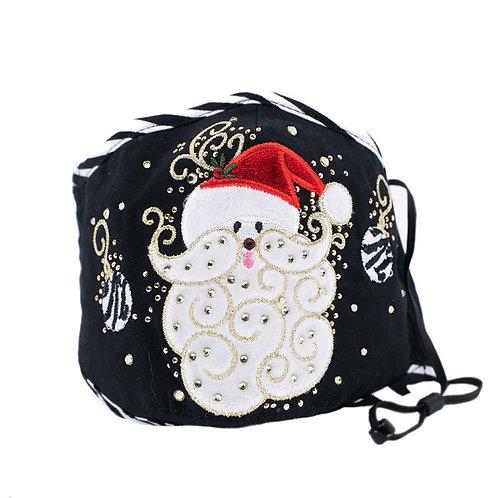 Santa & Ornaments Mask