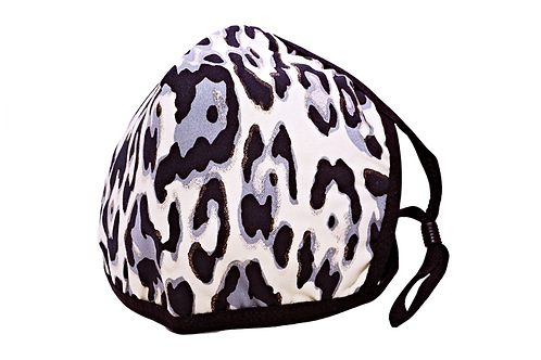 Leopard Foil Mask