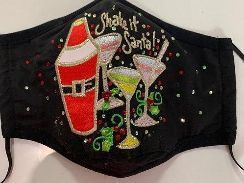 Shake It Santa Mask