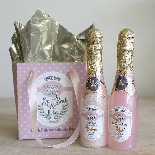 Wine Down Bath Duo Gift Set